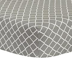 Trend Lab® Gray Diamond Crib Sheet