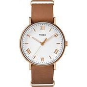 Timex Southview Mens Brown Strap Watch-Tw2r288009j