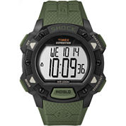 Timex Expedition Base Shock Mens Green Strap Watch-Tw4b093009j
