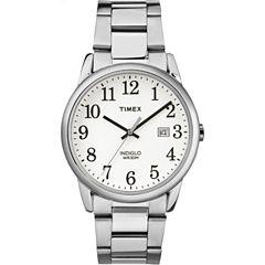 Timex Mens Silver Tone Bracelet Watch-Tw2r233009j