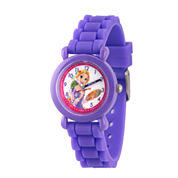 Disney Tangled Girls Purple Strap Watch-Wds000147