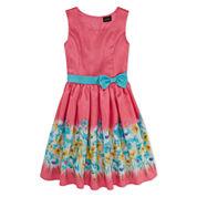 Lilt Sleeveless Fit & Flare Dress Plus - Big Kid