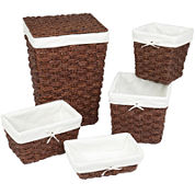 Creative Bath™ Chunky Weave Hamper Collection