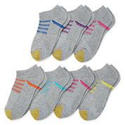Gold Toe®6-pk.+1 Trekker No-Show Socks