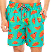 Arizona Watermelon Print Volley 6.5