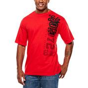 Ecko Unltd Short Sleeve Solid Knit Polo Shirt Big and Tall