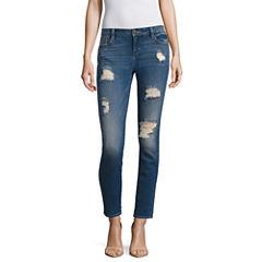 Belle + Sky Destiny Destructed Skinny Jeans-Petites