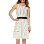 Danny & Nicole® Sleeveless Fit-and-Flare Dress