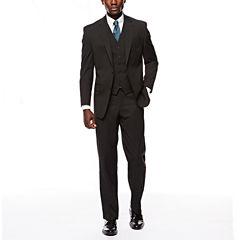 IZOD® Striped Black Stripe Suit Separates
