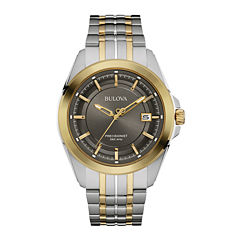 Bulova® UHF Precisionist Mens Two-Tone Stainless Steel Watch 98B273