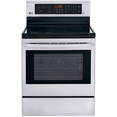 LG 6.3 cu. ft. Freestanding Electric Oven Range with True Convection and EasyClean®