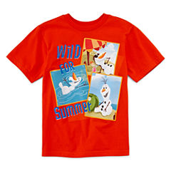 Disney Collection Olaf Short-Sleeve Graphic Tee - Boys 2-12