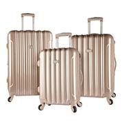 Travelers Club Kensie 3-pc. Luggage Set