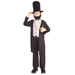 Abraham Lincoln Child Costume 3-pc. Dress Up Costume-Preschool Boys