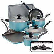 Farberware 17-pc. Aluminum Cookware Set