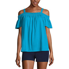 City Streets Off The Shoulder Top