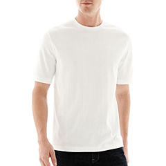 Claiborne® Drop-Needle Tee