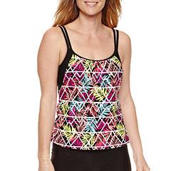 Splashletics Leaf Tankini Swimsuit Top