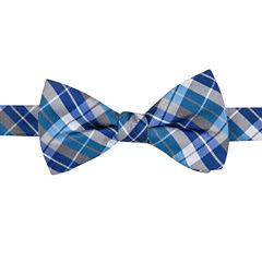 J.Ferrar Plaid Bow Tie
