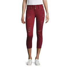 Ymi Cropped Pants-Juniors