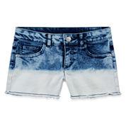 Total Girl Denim Shorts - Big Kid Girls