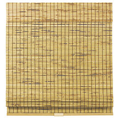 Burnout Bamboo Cordless Roman Shade