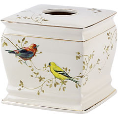 Avanti Gilded Birds Bath Tissue Holder