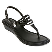 east 5th®  Griddle Strappy Sandals
