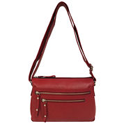 east 5th Leather Front Pocket Shoulder Bag