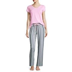 Liz Claiborne Jersey Pajama Pants-Petites