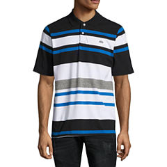 Ecko Unltd Short Sleeve Stripe Jersey Polo Shirt