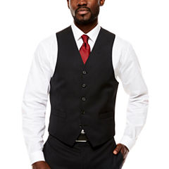 Collection by Michael Strahan  Classic Fit Woven Suit Vests