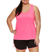 Xersion Knit Tank Top-Plus