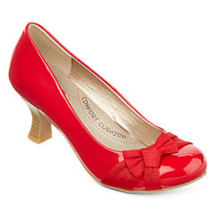 Pop Palace Patent Pumps