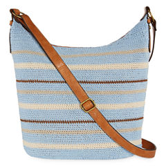 St. John's Bay® Tia Crochet Hobo Bag