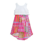 Youngland® Sleeveless Lace Pop-Over Sundress - Preschool Girls 4-6x