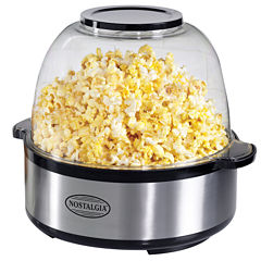 Nostalgia SP660SS Stainless Steel Stir-Pop 6-QuartPopcorn Maker