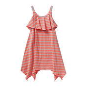 Youngland® Sleeveless Popover Handkerchief Dress - Preschool Girls 4-6x