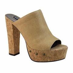 Michael Antonio Tullip Womens Heeled Sandals