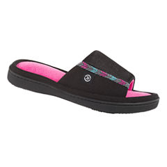 Isotoner Mesh Luna Slide Slippers