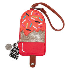 Lily Bloom Mini Novelty Key Fob Coin Purse
