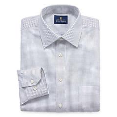 Stafford Executive Non-Iron Cotton Pinpoint Oxford Long Sleeve Dress Shirt