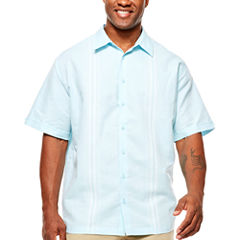 Havanera Button-Front Shirt-Big and Tall