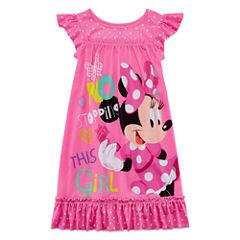Disney Short Sleeve Minnie Mouse Nightshirt