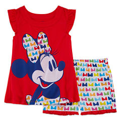 Disney 2-pc. Minnie Mouse Kids Pajama Set Girls