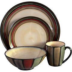 Sango Flair 16-pc. Reactive Glaze Dinnerware Set