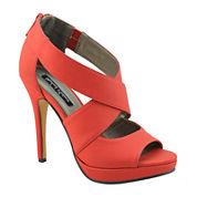 Michael Antonio Tovey Crisscross Platform Sandals