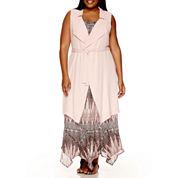Alyx® Sleeveless Trench Vest - Plus