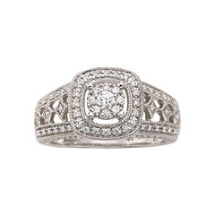 I Said Yes™ 1/3 CT. T.W. Certified Diamond Engagement Ring