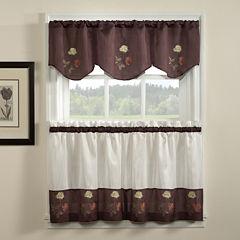 Rose Kitchen Curtains